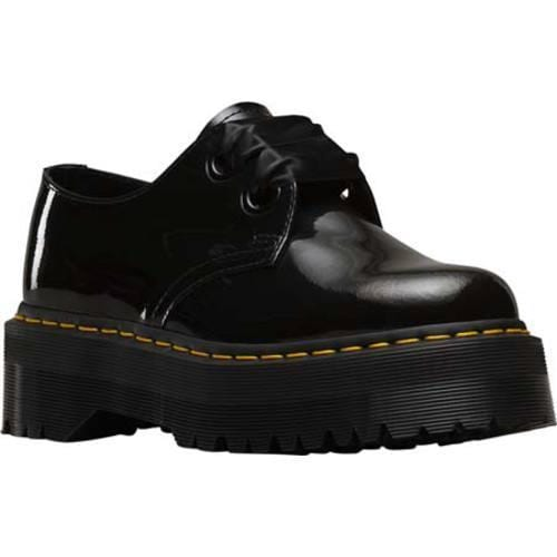 805b6ce74f16 Shop Women s Dr. Martens Holly Lolita Shoe Black Patent Lamper - Free  Shipping Today - Overstock - 12066308