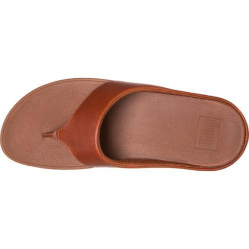 Women's FitFlop Ringer Thong Sandal Dark Tan - Thumbnail 2