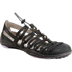 Women's Jambu El Dorado Sandal Black Leather