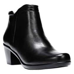 Women's Naturalizer Elisabeth Bootie Black Leather https://ak1.ostkcdn.com/images/products/123/938/P18939223.jpg?impolicy=medium