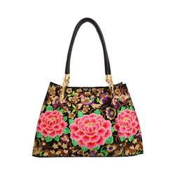 Women's Mellow World Bella Tote Handbag Black
