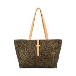 Women's Mellow World Tiffany Vine Embossed Tote Handbag Black