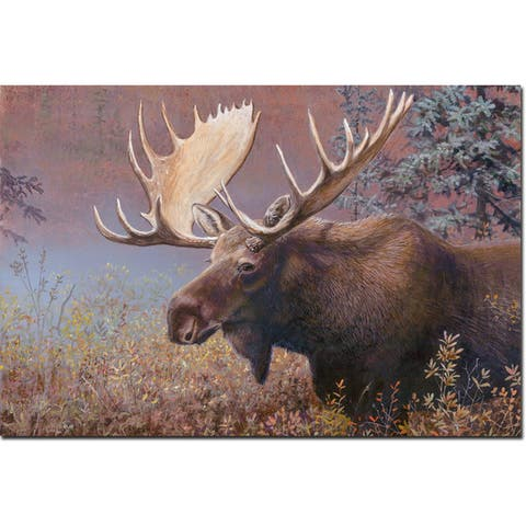 WGI Gallery 'Chocolate Moose' Wooden Wall Art