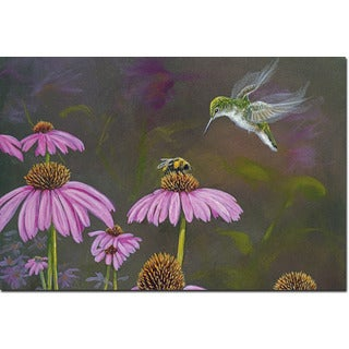 WGI Gallery 'Competition Bee Hummingbird' Wooden Wall Art