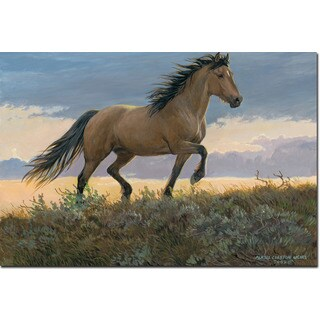 WGI Gallery Buckskin Stallion Wall Art Printed on Wood (5 options available)