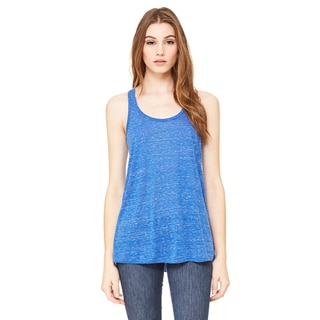 Flowy Women's Racerback True Royal Marble Tank