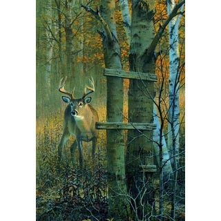 WGI Gallery (The) Buck Stops Here' Wood Wall Art Printed on Wood
