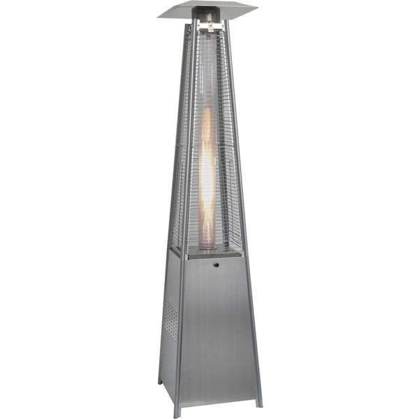 Hanover 7-foot 42,000 BTU Stainless Steel Pyramid Propane Patio Heater