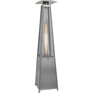 Hanover 7-foot 42,000 BTU Stainless Steel Pyramid Propane Patio Heater