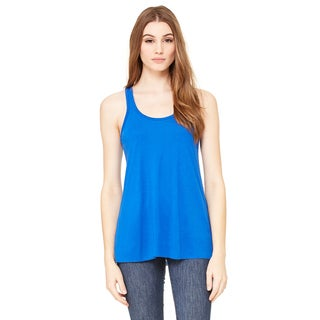 Flowy Women's Racerback True Royal Tank
