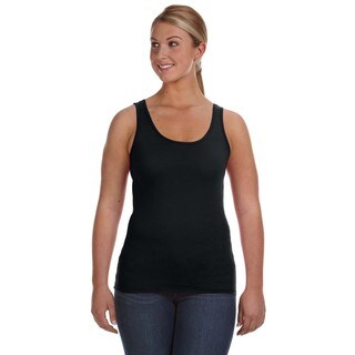 Lightweight Women's Black Tank