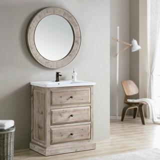 Wall Mirror Bathroom Vanities Vanity Cabinets For Less Overstock