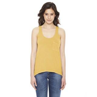 Best Summer Women's Pocket Mustard Tank