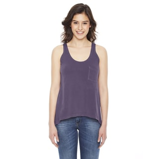 Best Summer Women's Washed Plum Pocket Tank