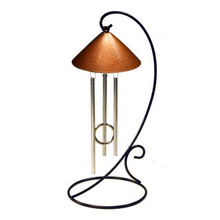 Metallic Collection Solar Powered Indoor Chime