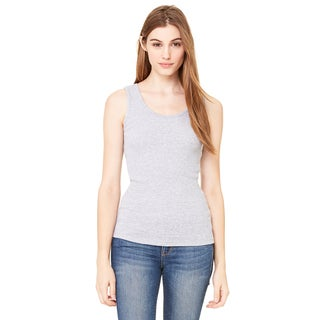 2x1 Women's Rib Athletic Women's Heather Tank