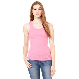 2x1 Women's Very Pink Rib Tank