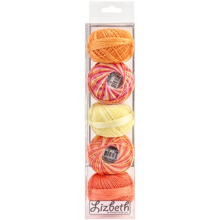 Lizbeth Specialty Pack Cordonnet Cotton Size 10 5/Pkg