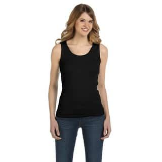 1x1 Women's Black Baby Rib Tank|https://ak1.ostkcdn.com/images/products/12300381/P19136196.jpg?impolicy=medium