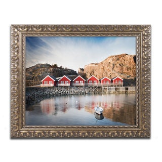 Philippe Sainte-Laudy 'The Magic Number' Ornate Framed Art