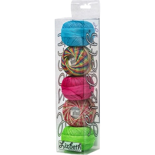 Lizbeth Specialty Pack Cordonnet Cotton Size 20 5/Pkg