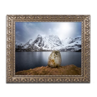 Philippe Sainte-Laudy 'Spaceways Theme' Ornate Framed Art