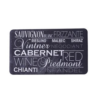 Somette Somette Variety of Wine Anti Fatigue Kitchen Mat (18 x 30)