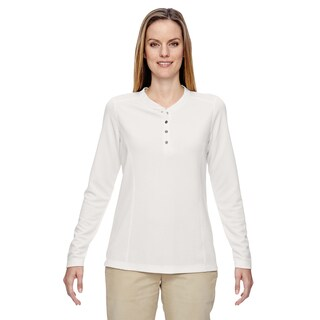 Excursion Nomad Women's Crystal Qrtz 695 Performance Waffle Henley