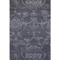 Persian Rugs Modern Day Antique Styled Floral Area Rug - 5'2 x 7'2