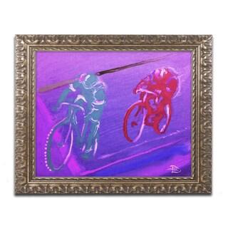 Lowell S.V. Devin 'Sandstone Relay' Ornate Framed Art