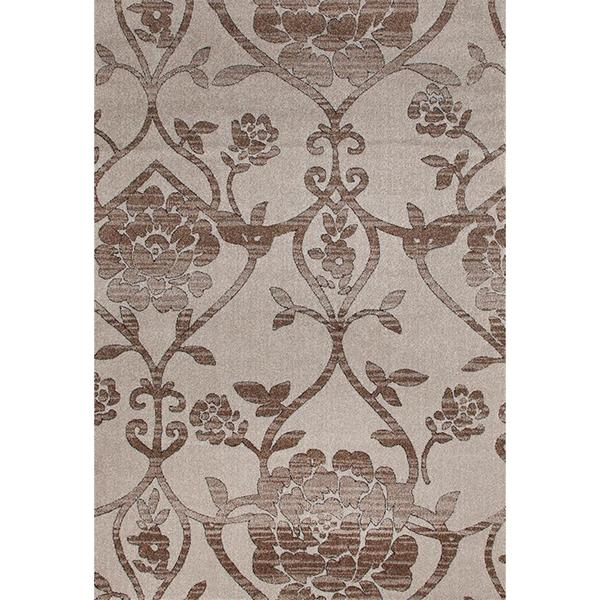 """Persian Rugs Modern Day Antique Styled Floral Area Rug - 7'10"""" x 10'6"""""""