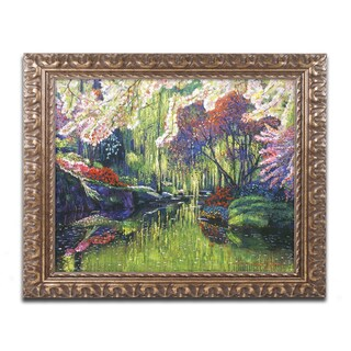 David Lloyd Glover 'Spring Concerto' Ornate Framed Art