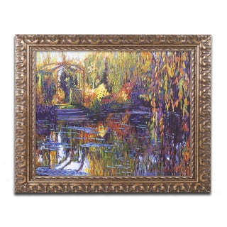 David Lloyd Glover 'Tapestry Reflection' Ornate Framed Art