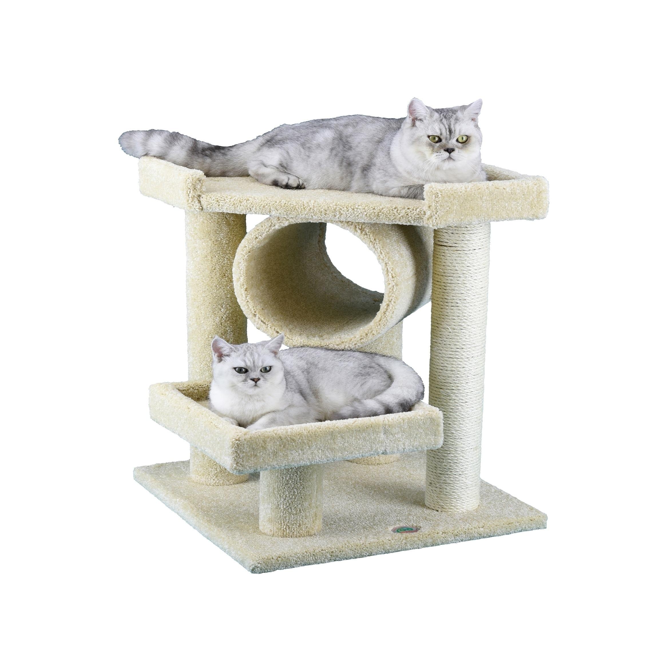"""GoPetClub 27-inch Premium Cat Tree (19""""W x 19""""L x 27""""H, b..."""