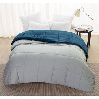 VCNY 3-IN-1 All Seasons Down Alternative Snap Comforter