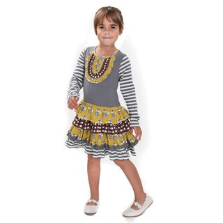 Jelly the Pug Chloe Fox Hill Cotton Girl's Dress