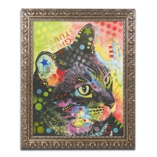 Dean Russo 'What Was That' Ornate Framed Art