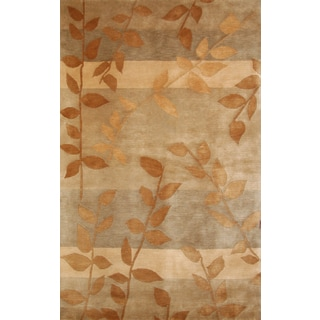 Greyson Living Fairhaven Tan/ Beige/ Gold Area Rug (5'3 x 7'6)