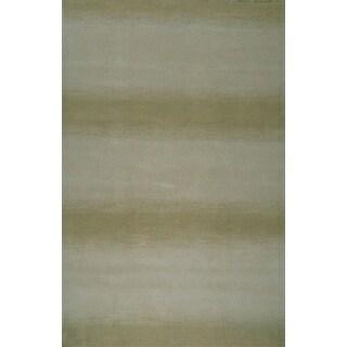 Greyson Living Hazel Aqua/ Green Area Rug (5'3 x 7'6)
