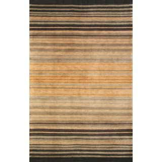 Greyson Living Alto Natural/ Black Area Rug (5'3 x 7'6)