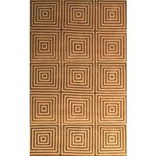 Greyson Living Eternity Gold/ Brown Area Rug (7'9 x 10'6)