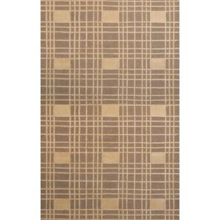 Greyson Living Neo Beige/ Ivory Area Rug (5'3 x 7'6)