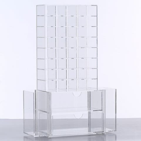 All-in-One Premium Acrylic Cosmetic Organizer Unit