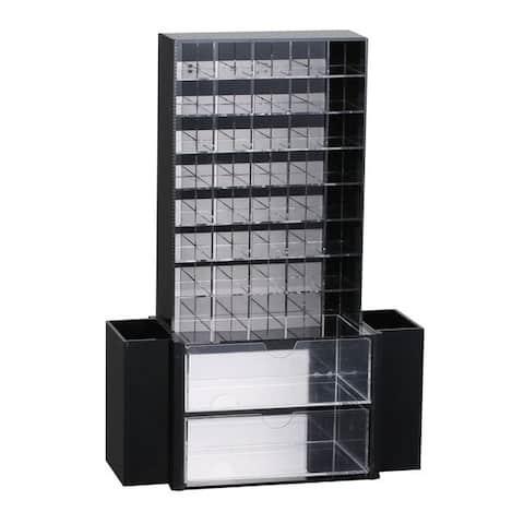 All-in-One Premium Acrylic Cosmetic Organizer Unit