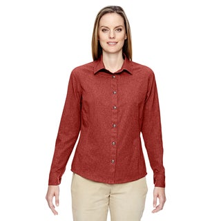 Excursion Women's Rust 489 Utility Two-Tone Performance Shirt