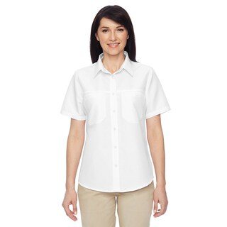 Key West Women's White Short-Sleeve Performance Staff Shirt