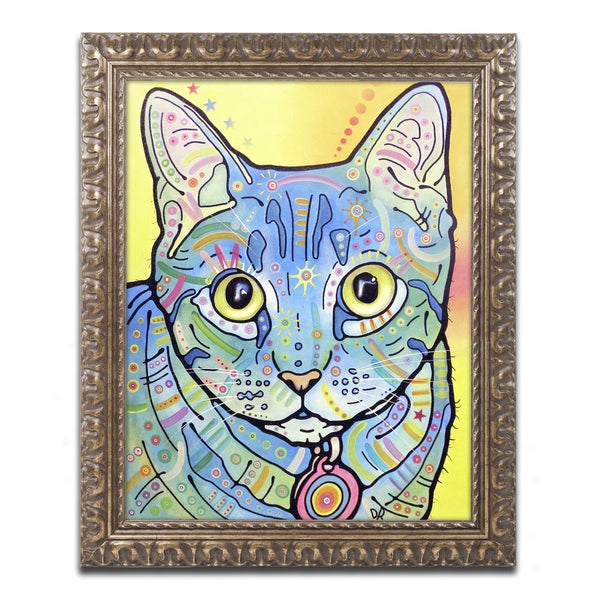 Dean Russo 'Vintage Maya' Ornate Framed Art