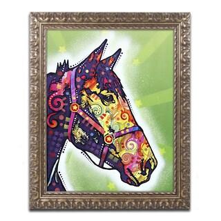 Dean Russo 'Horse II' Ornate Framed Art