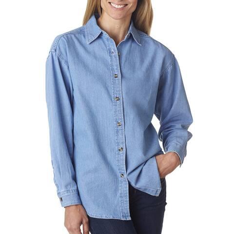 Cypress Women's Denim Light Blue Shirt