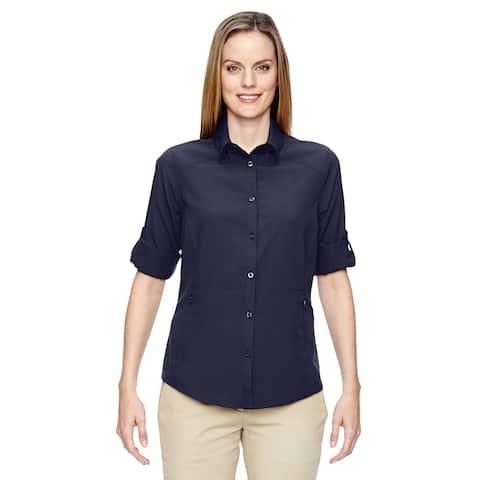 Excursion Women's Navy 007 Concourse Performance Shirt